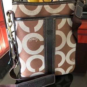 Coach purses one coach wallet and one xo wristlet